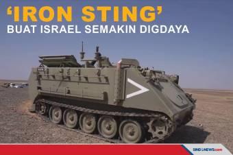 Iron Sting, Mortir Berpemandu Laser Buat Israel Semakin Digdaya