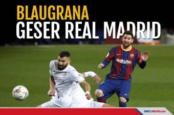 Hajar Huesca, Blaugrana Geser Real Madrid di Klasemen La Liga