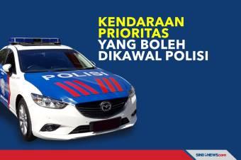 Daftar Kendaraan Prioritas yang Diperbolehkan Dikawal Polisi