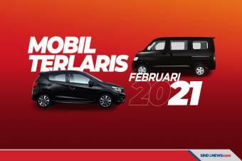 GranMax dan Brio Jawara Mobil Terlaris Februari 2021