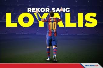 Si Sang Bintang: Lionel Messi Sang Loyalis Barcelona