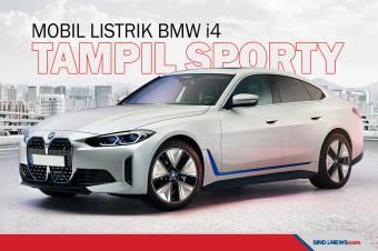 Resmi Meluncur, Mobil Listrik BMW i4 Mampu Menempuh 590 Kilometer