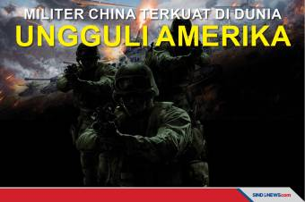Militer China Terkuat di Dunia Ungguli AS, Versi Military Direct