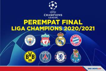 Hasil Drawing Perempat Final Liga Champions 2020/2021