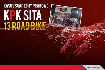 Terkait Kasus Suap Edhy Prabowo, KPK Sita 13 Road Bike