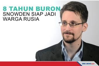 8 Tahun Jadi Buronan Edward Snowden Siap Jadi Warga Rusia
