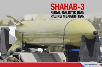 Menjangkau Timur Tengah, Rudal Shahab-3 Iran Paling Menakutkan