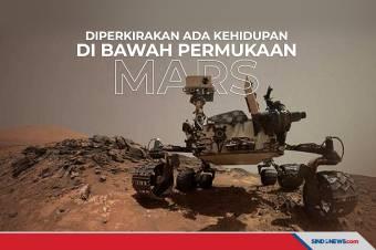 Diperkirakan Terdapat Kehidupan di Bawah Permukaan Mars