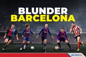 Ini Lima Kesalahan Barcelona dalam Transfer Pemain