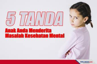 5 Tanda Anak Anda Menderita Masalah Kesehatan Mental