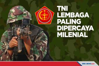 TNI Menjadi Lembaga yang Paling Dipercaya Milenial