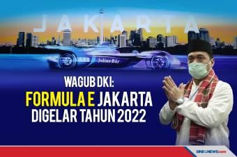 Wagub DKI: Insyaallah Tahun 2022 Formula E di Jakarta Digelar