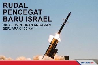 Rudal Baru Israel, Bisa Lumpuhkan Ancaman Berjarak 150 Km