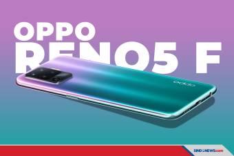 OPPO Reno5 F Resmi Hadir di Indonesia. Harhanya Rp4.299.000