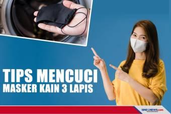 Mencuci Masker Kain 3 Lapis Jangan Cuma Masuk Mesin Cuci