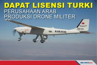 Dapat Lisensi Turki Perusahaan Arab Produksi Drone Militer