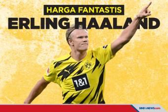 Rp3 Triliun, Dortmund Patok Harga Jual Erling Haaland