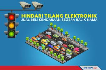 Hindari Tilang Elektronik, Jual Beli Kendaraan Segera Balik Nama