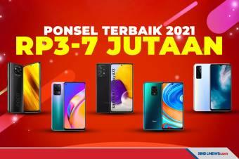 5 Smartphone Harga Rp3-7 Jutaan Terbaik Per Maret 2021
