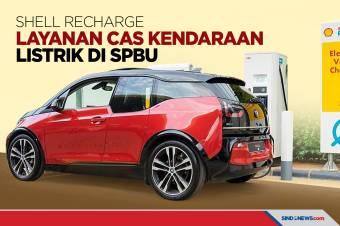 Shell Recharge, Layanan Cas Kendaraan Listrik di SPBU