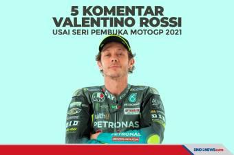 Simak 5 Komentar Rossi Usai Seri Pembuka MotoGP 2021
