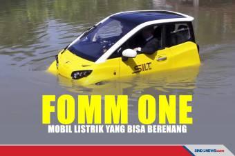Mobil Listrik Buatan Jepang Ini Bisa Berenang dan Berani Terabas Banjir