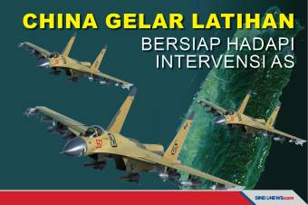 Militer China Gelar Latihan, Bersiap Hadapi Intervensi AS