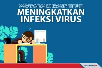 Kurang Tidur Dapat Meningkatkan Risiko Infeksi Virus