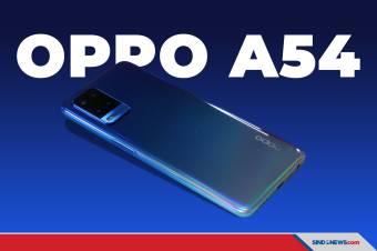 Dibanderol Rp2.699 juta, Ini Harga dan Spesifikasi OPPO A54