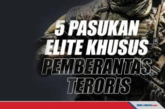 Pasukan Elite Khusus Pemberantas Teroris di Indonesia