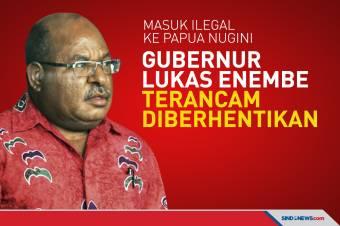 Gubernur Papua Lukas Enembe Terancam Diberhentikan
