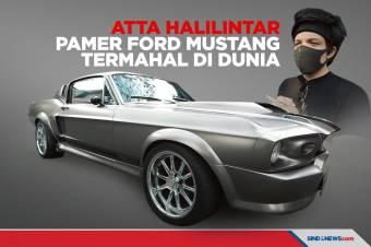 Atta Halilintar Pamer Ford Mustang Termahal di Dunia Buat Nikahan