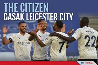 The Citizen Gasak Leicester City di Stadion King Power
