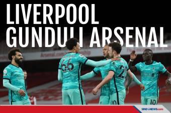 Liverpool Gunduli Arsenal, Klopp Optimistis Finis 4 Besar