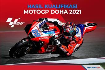Hasil Kualifikasi MotoGP Doha 2021, Jorge Martin Start Terdepan