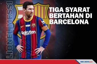 Lionel Messi Ajukan Syarat untuk Perpanjang Kontrak di Barcelona