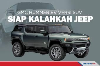 Resmi Meluncur, GMC Hummer EV Versi SUV Siap Bersaing dengan Jeep
