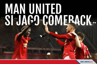Comeback, Manchester United Rengkuh Poin Penuh di Old Trafford