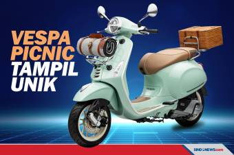 Vespa Picnic Limited Edition Resmi Dikenalkan Piaggio Indonesia