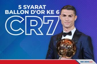 Ronaldo Berpeluang Rebut Ballon dOr 2021 Jika Lakukan 5 Hal Ini