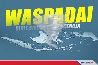 Waspada Bibit Siklon Tropis 99S Terhadap Cuaca di Indonesia