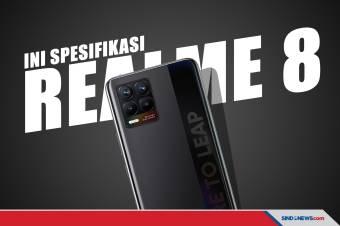Resmi Hadir di Indonesia, Ini Harga realme 8 dan realme 8 Pro