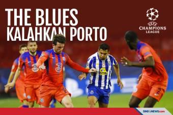 Chelsea Hajar Porto di Leg Pertama Perempat Final Liga Champions