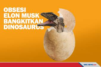 Obsesi Gila Elon Musk Membangkitkan Kembali Dinosaurus