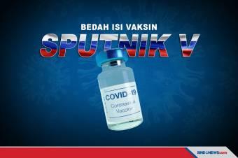 Inilah Kandungan Sputnik V, Vaksin Covid-19 Buatan Rusia