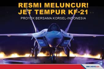 Resmi Meluncur! Jet Tempur KF-21 Proyek Bersama Korsel-Indonesia