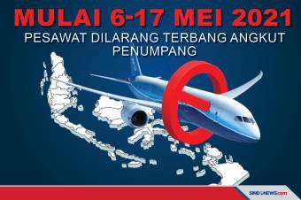 Pesawat Dilarang Terbang Angkut Penumpang Mulai 6-17 Mei 2021