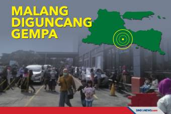 Diguncang Gempa, Pengunjung Mall dan Hotel di Malang Berhamburan