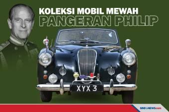 Deretan Koleksi Mobil Mewah Milik Pangeran Philip