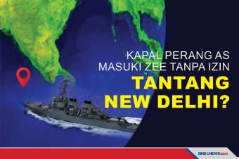 Kapal Perang AS masuki ZEE Tanpa Izin, Tantang New Delhi?